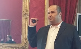 Raed Abu-REziq at FineCat017 (Palermo, 5 April 2017)